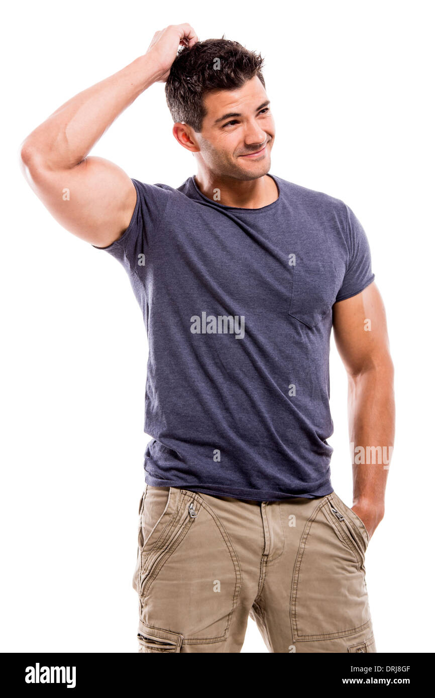 Handsome and beefy