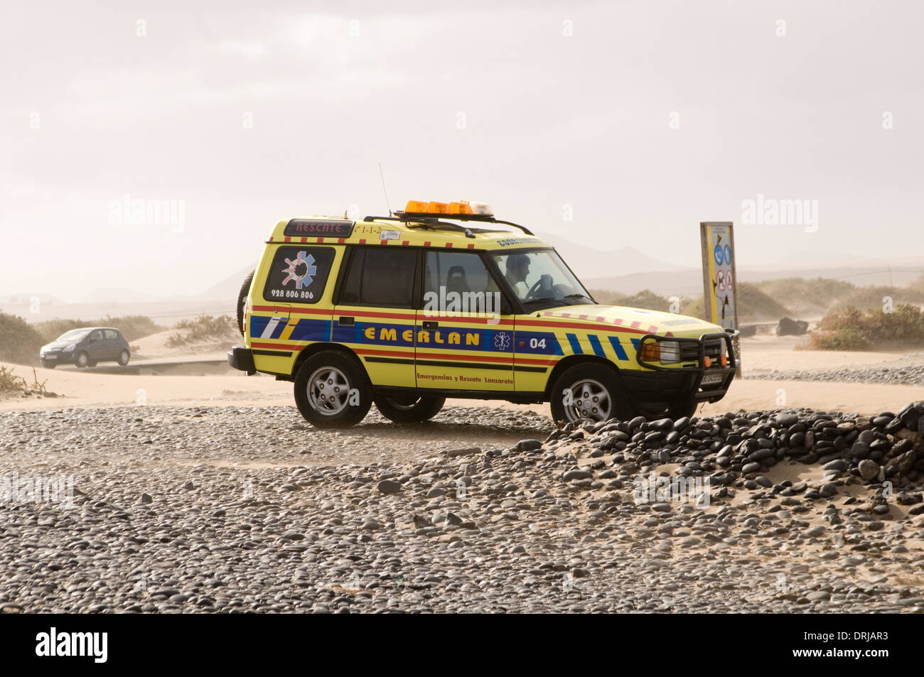 Land Rover Discovery Lifeguard Life Guard 4x4 4 By X 4 Beach