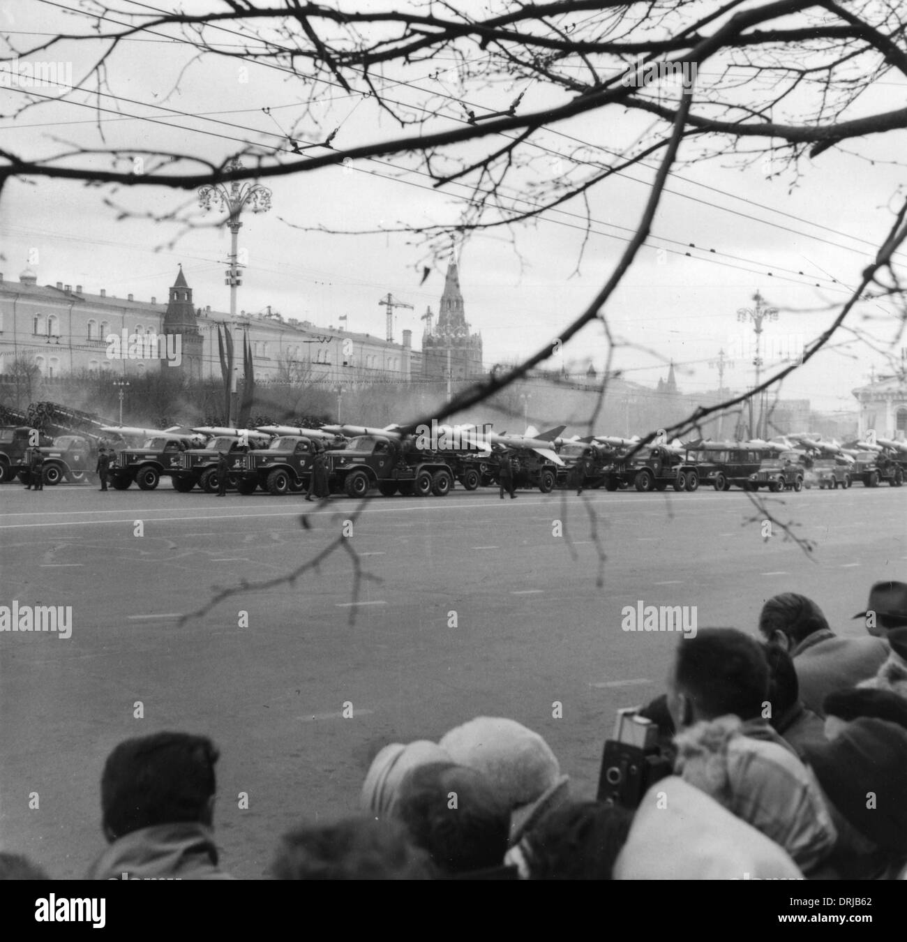 Parade of weapons, Moscow, Russia - Stock Image