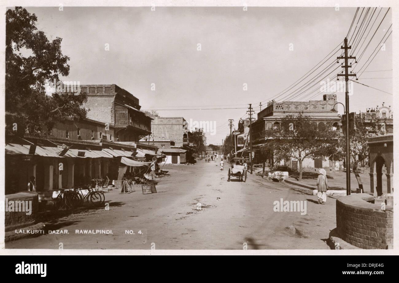 Lalkurti Bazar, Rawalpindi, NWFP Stock Photo: 66174432 - Alamy