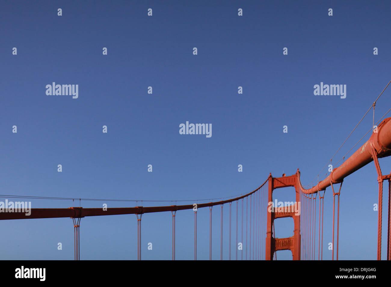 Golden Gate Bridge San Francisco, California - Stock Image