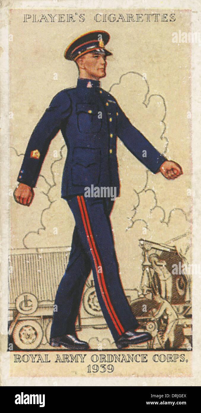 Royal Army Ordnance Corps - Stock Image