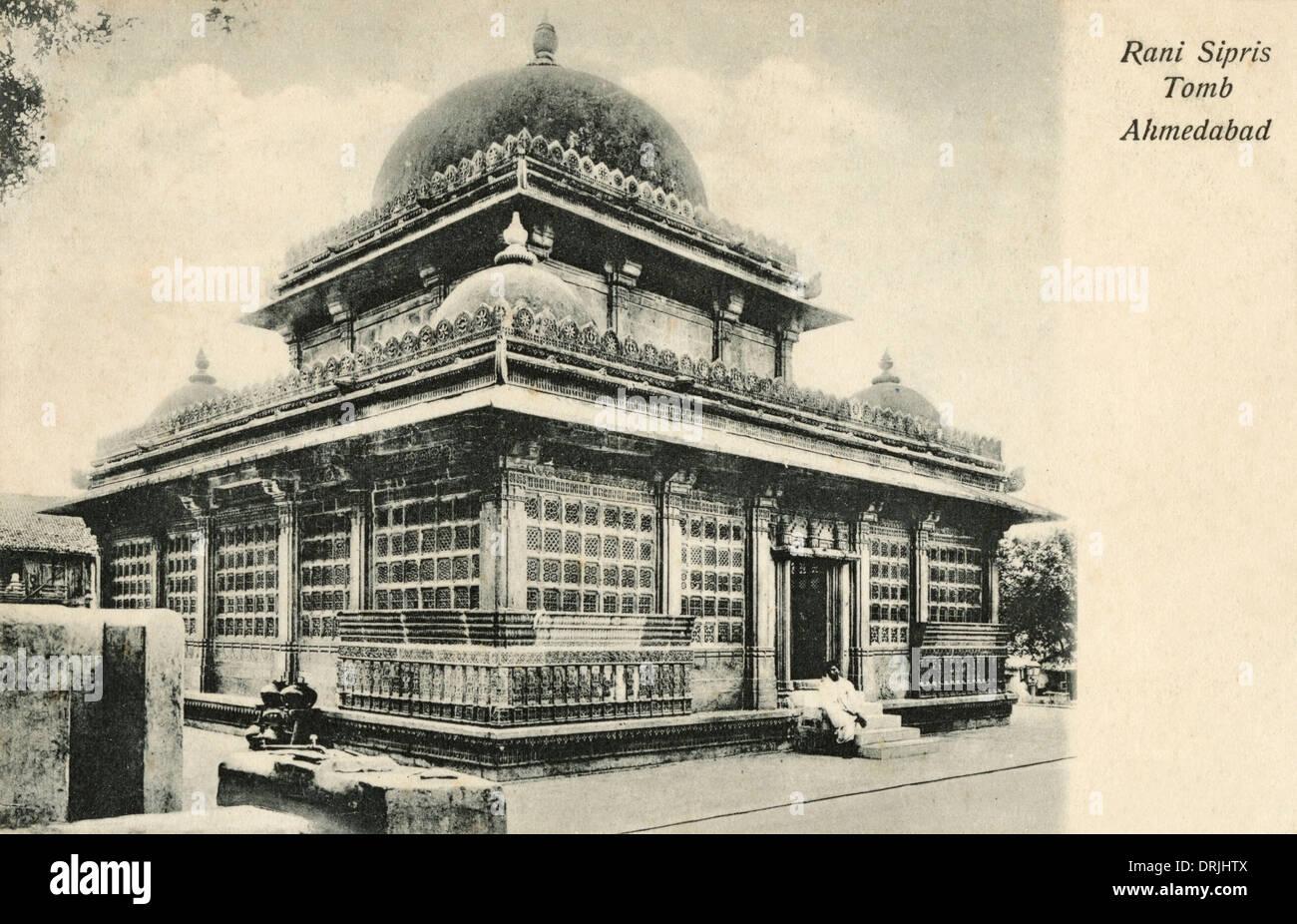 Rani Sipri's Mosque - Ahmedabad - Stock Image