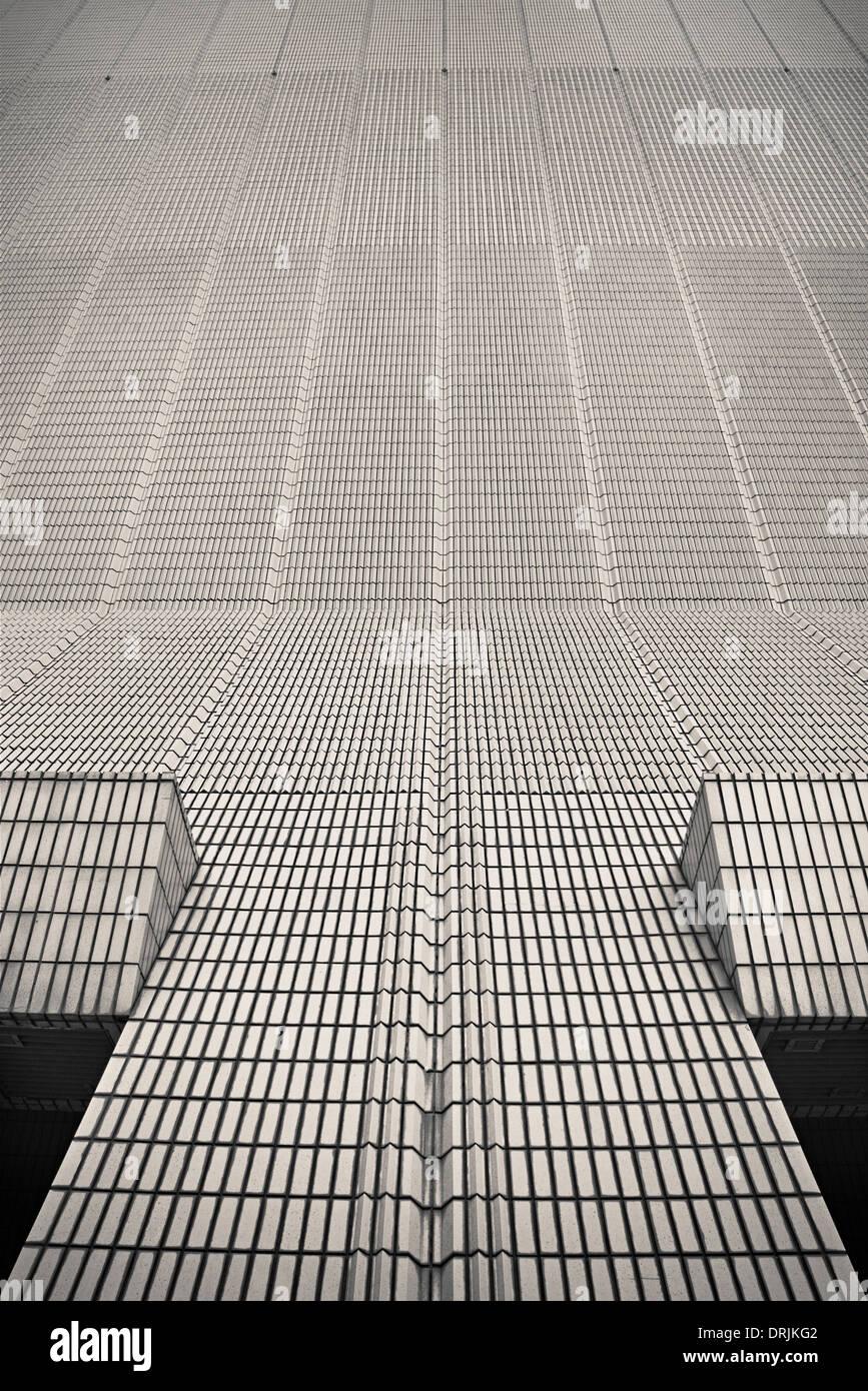 hongkong modern architecture building - Stock Image