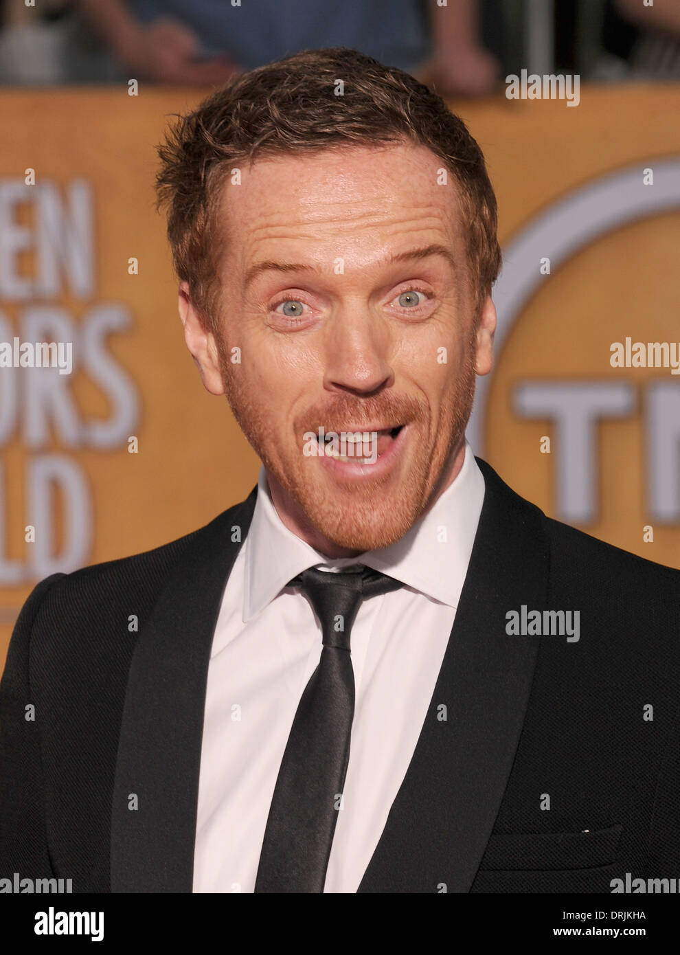 DAMIAN LEWIS English film actor in January 2014. Photo Jeffrey Mayer Stock Photo
