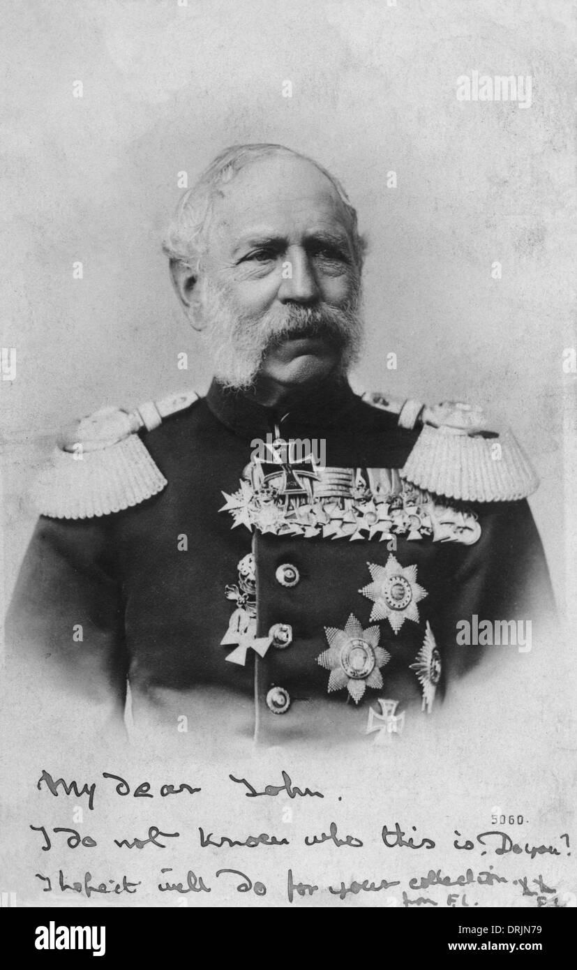 King Albert of Saxony - Stock Image