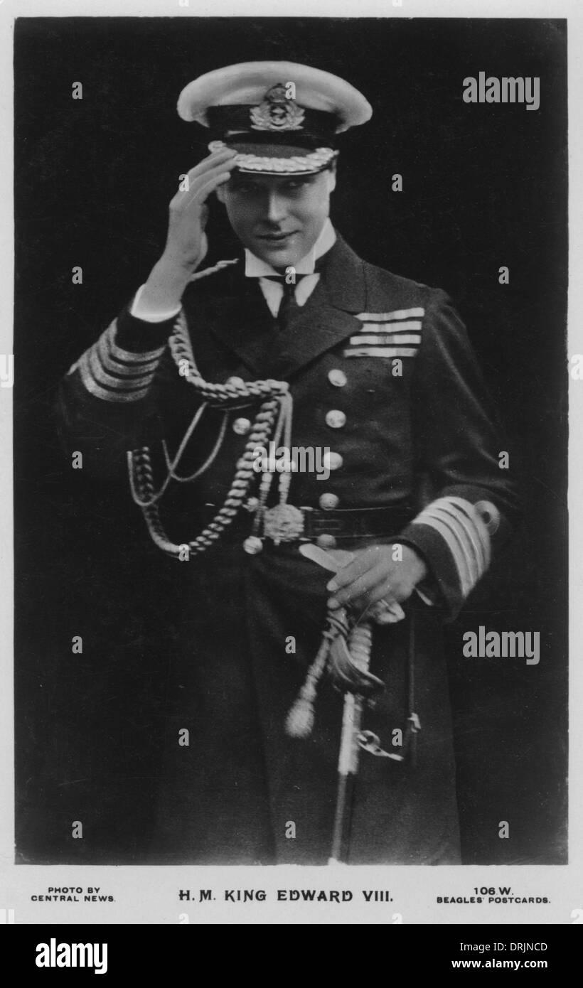 King Edward VIII - Stock Image