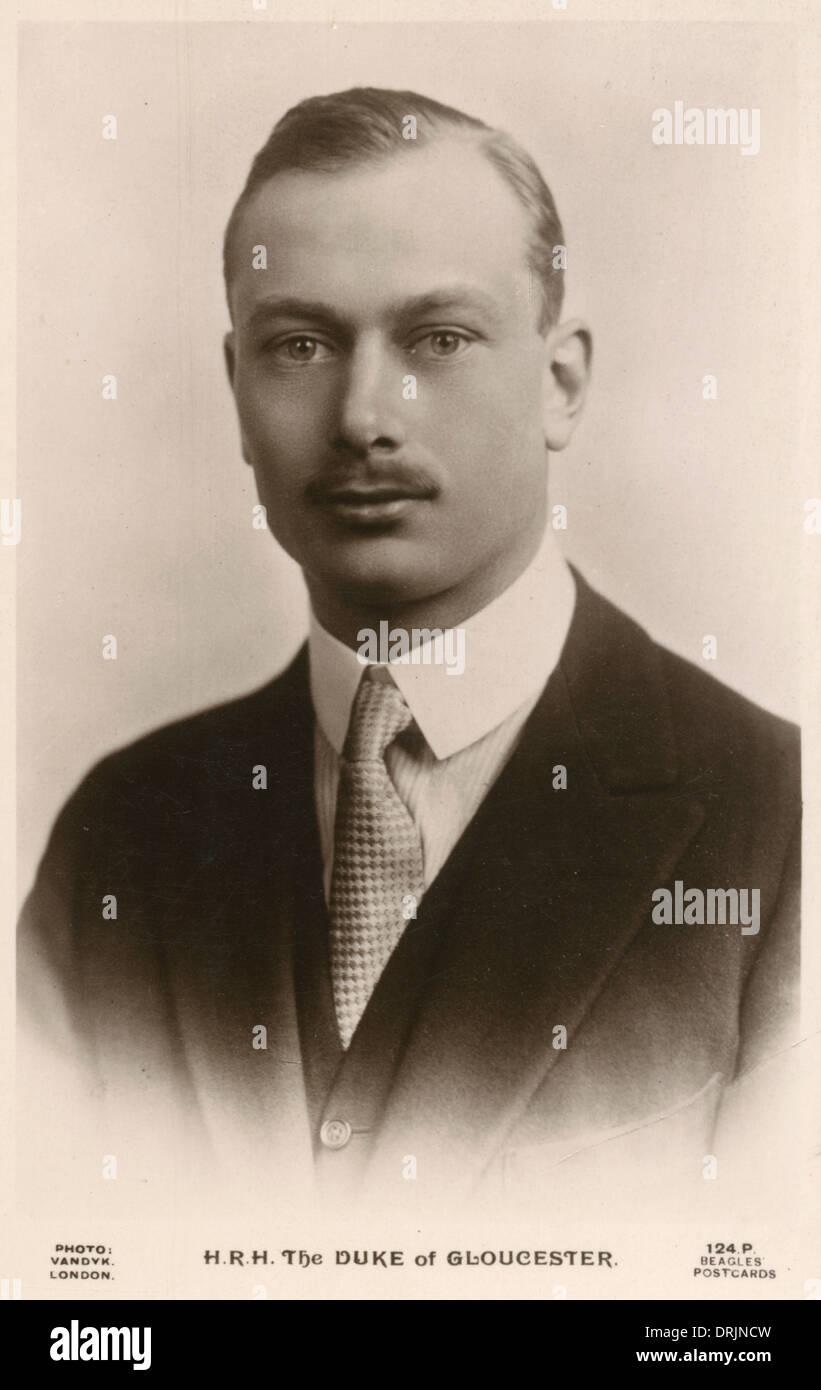 The Duke of Gloucester - Stock Image