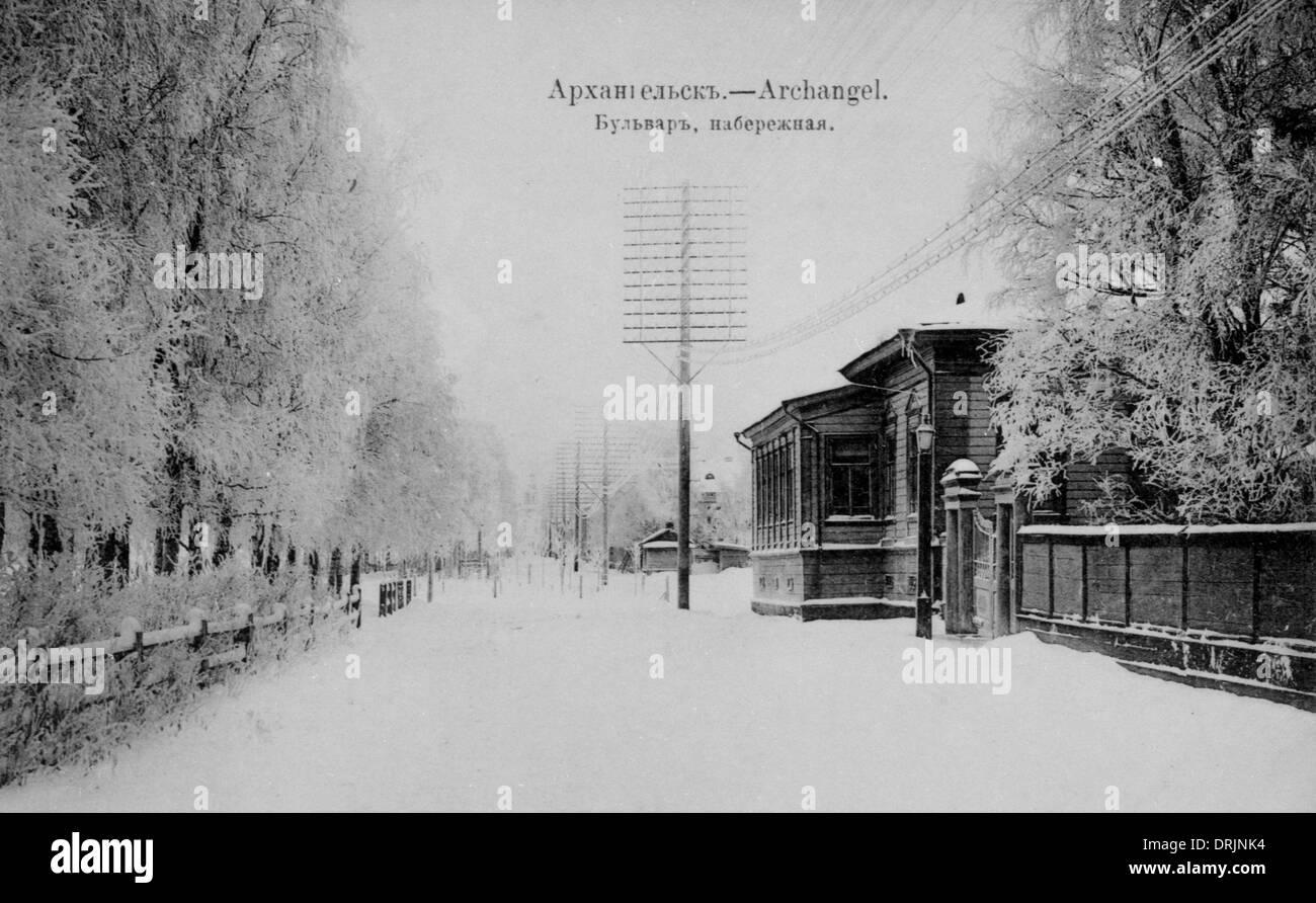 Arkhangelsk (Archangel), city. - Stock Image