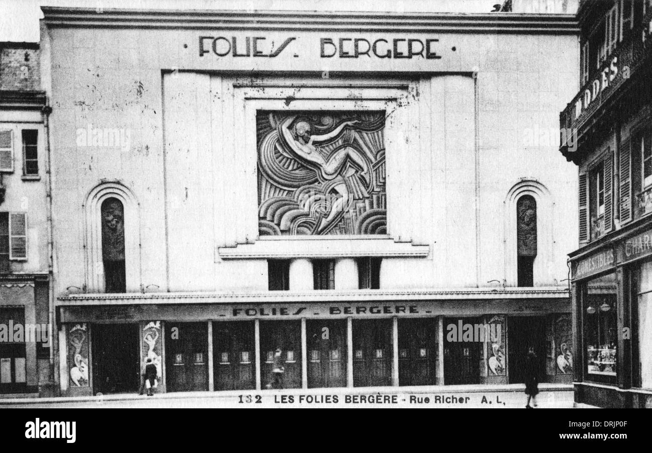 Folies Bergere High Resolution Stock Photography and Images - Alamy