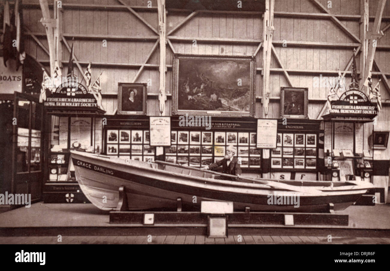 The Grace Darling Boat. Stock Photo
