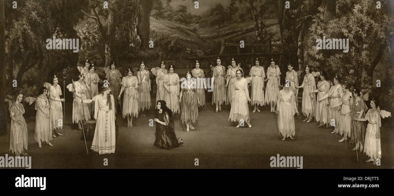 Stage shot of a performance of Iolanthe - Stock Image