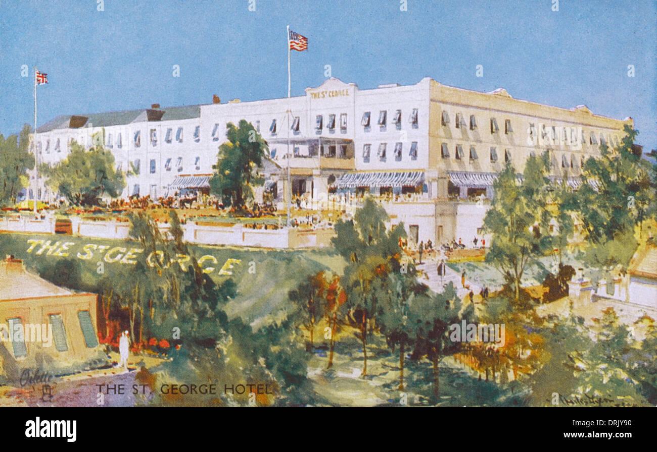 The St. George Hotel, Bermuda - Stock Image