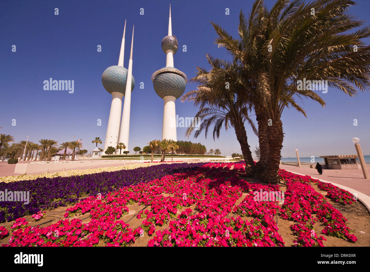 Kuwait towers,  kuwait city,  Arabian peninsula, architecture,  landmark,  day , arab - Stock Image