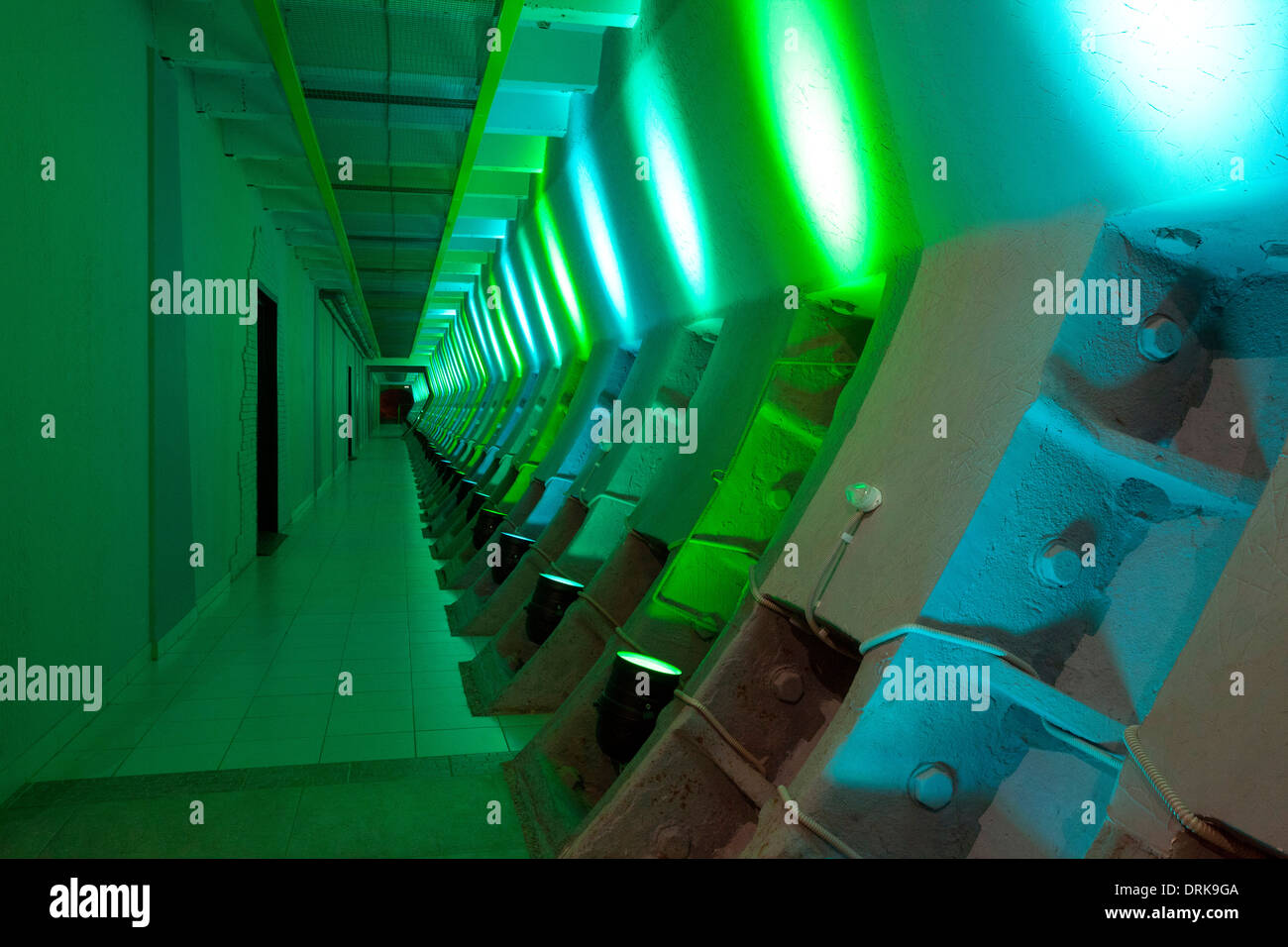 Tagansky Protected Command Point nuclear bunker Moscow cold war - Stock Image