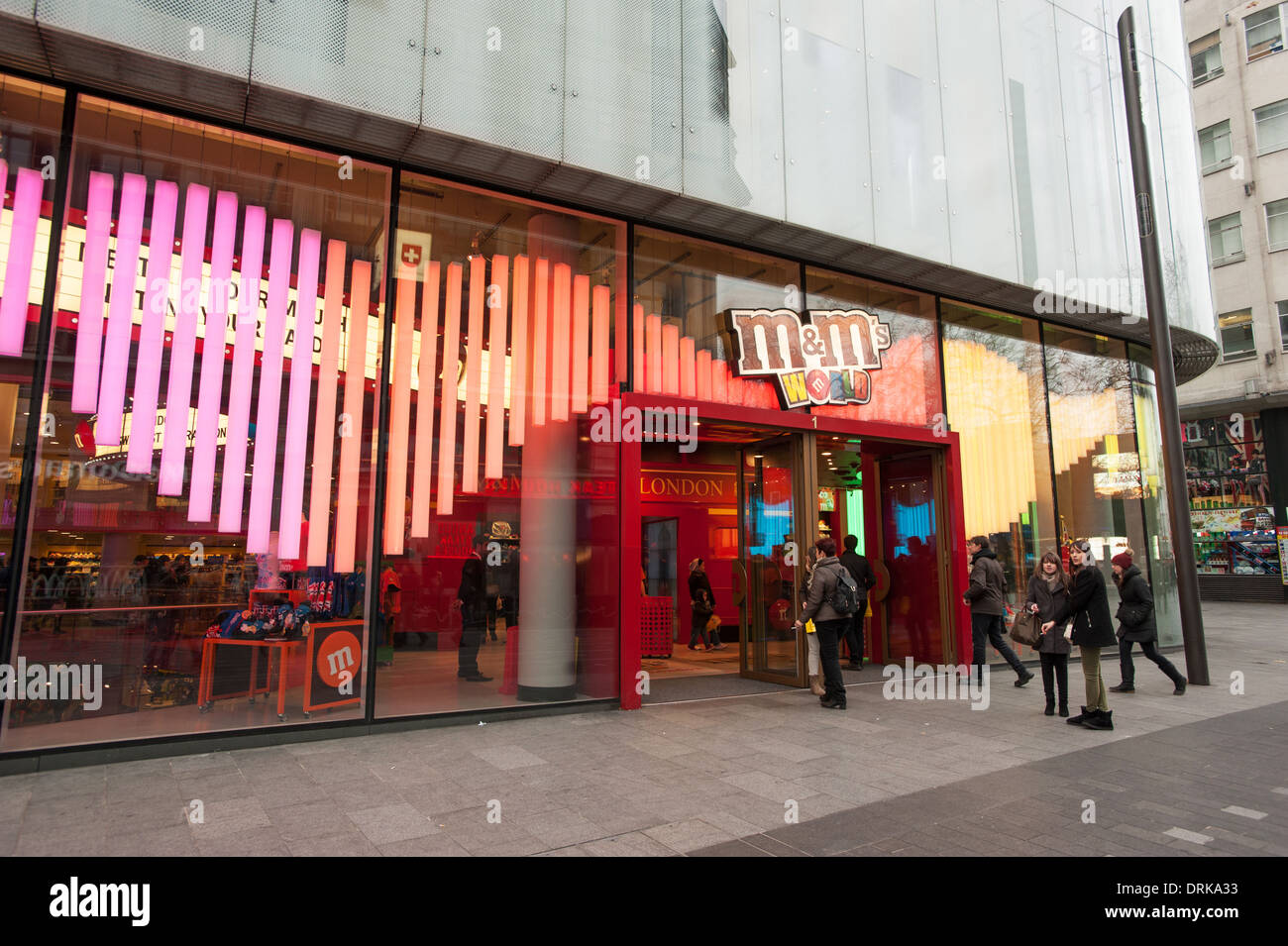 M&M Store Leicester Square - Stock Image