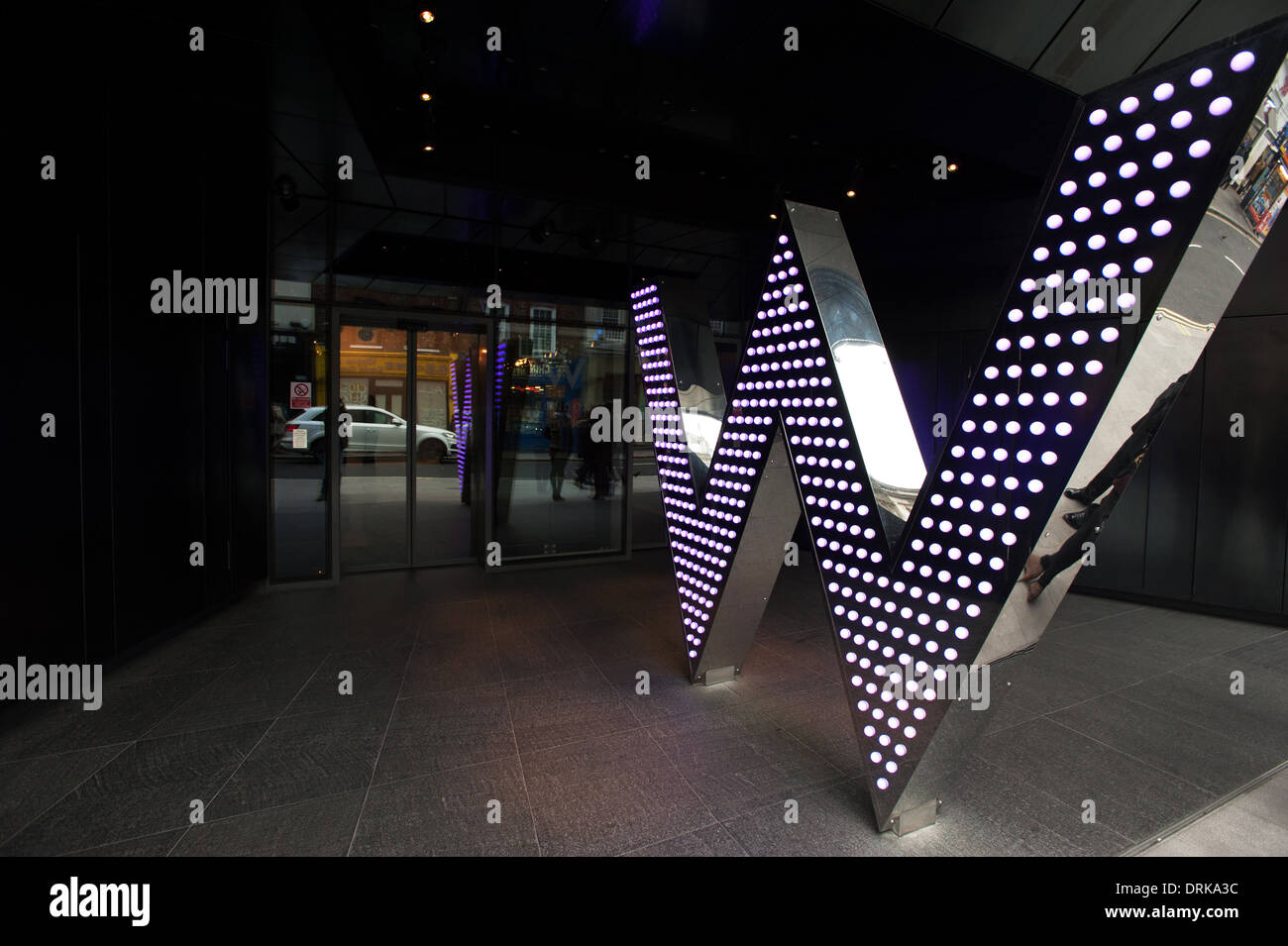 W London Leicester Square - Stock Image