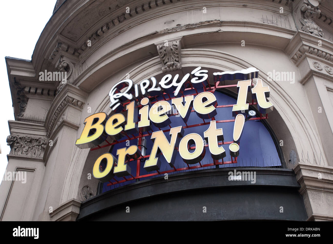 Ripley's Believe it or Not Museum. Piccadilly Circus. - Stock Image