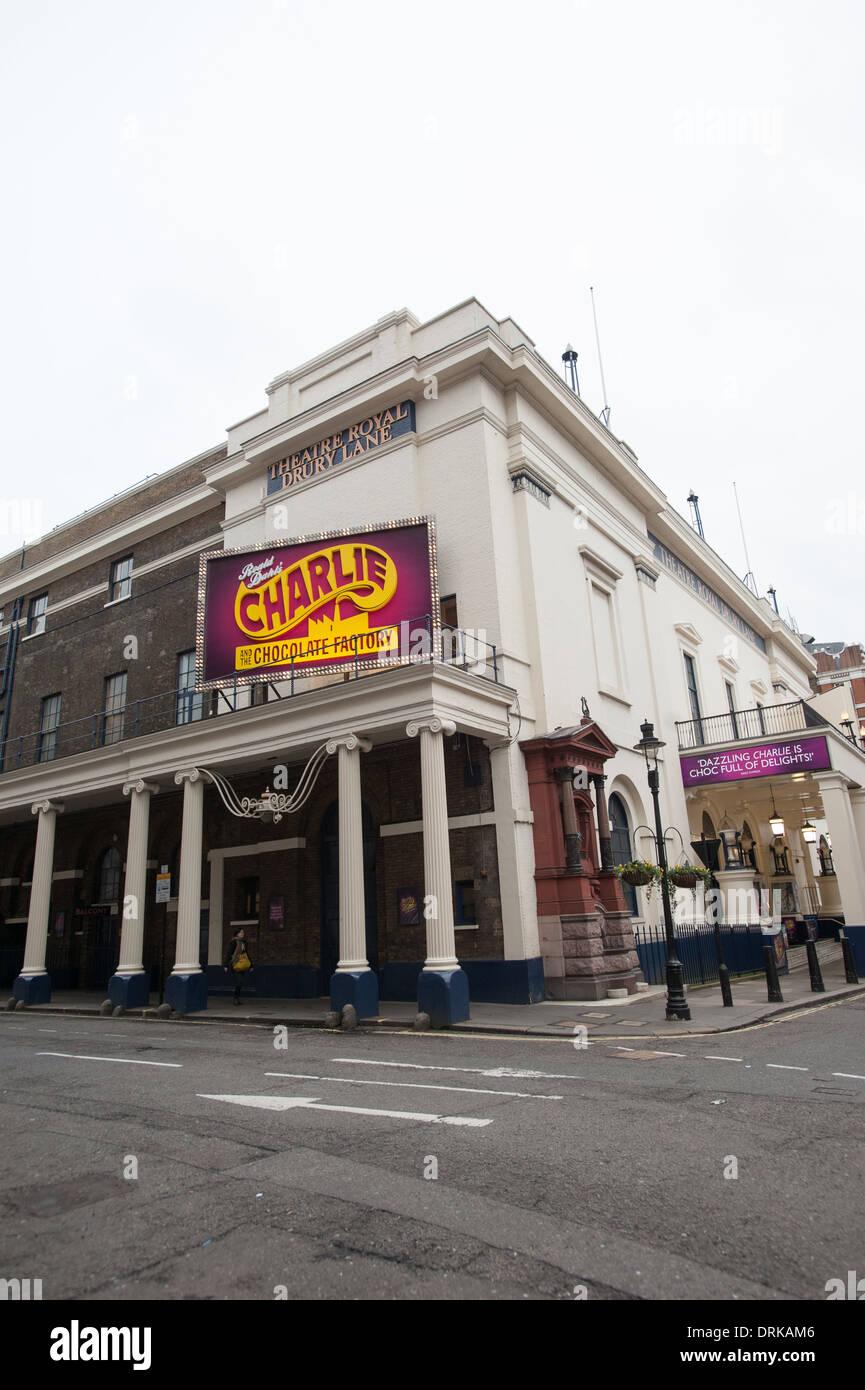 Theatre Royal, Drury Lane - Stock Image