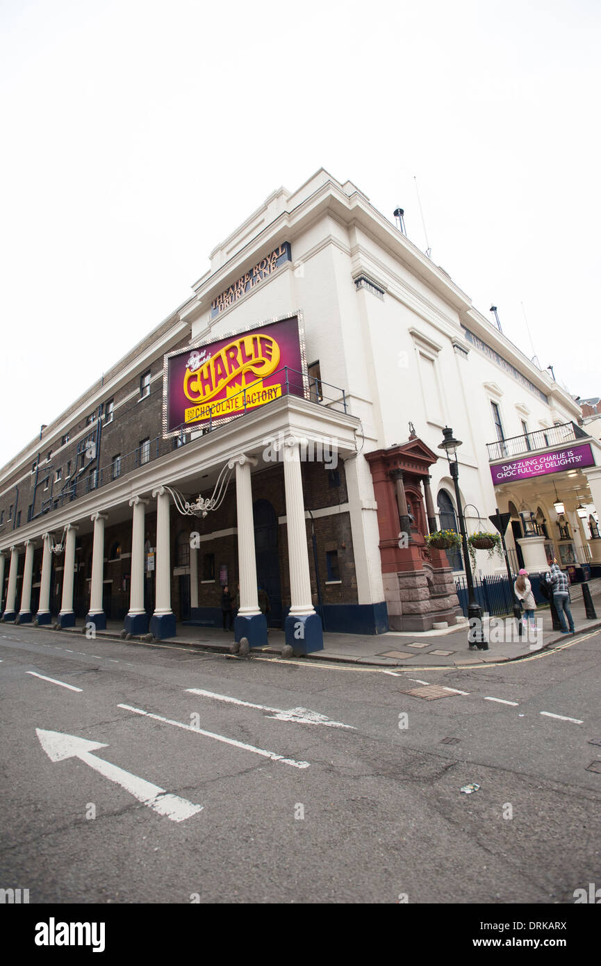 Theatre Royal, Drury Lane Stock Photo