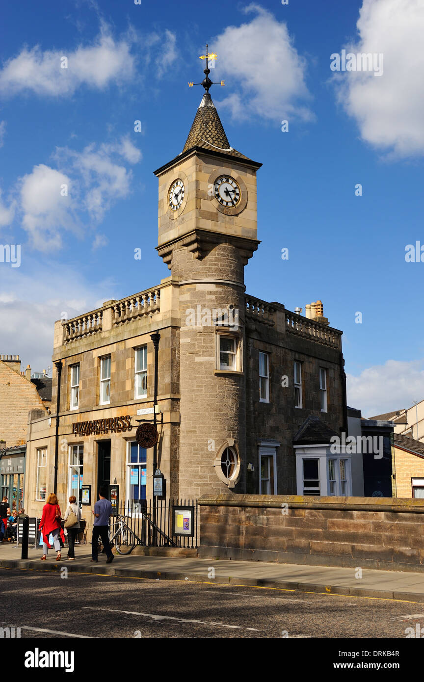 The Clock Tower Now Pizza Express In Stockbridge Beside