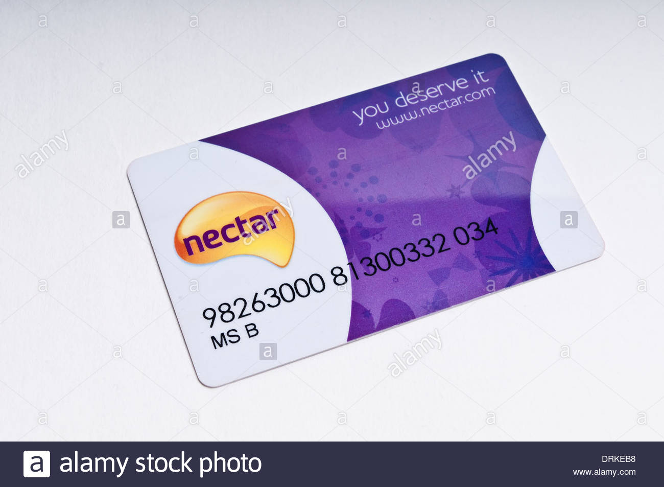 Nectar store loyalty card Stock Photo: 66196572 - Alamy
