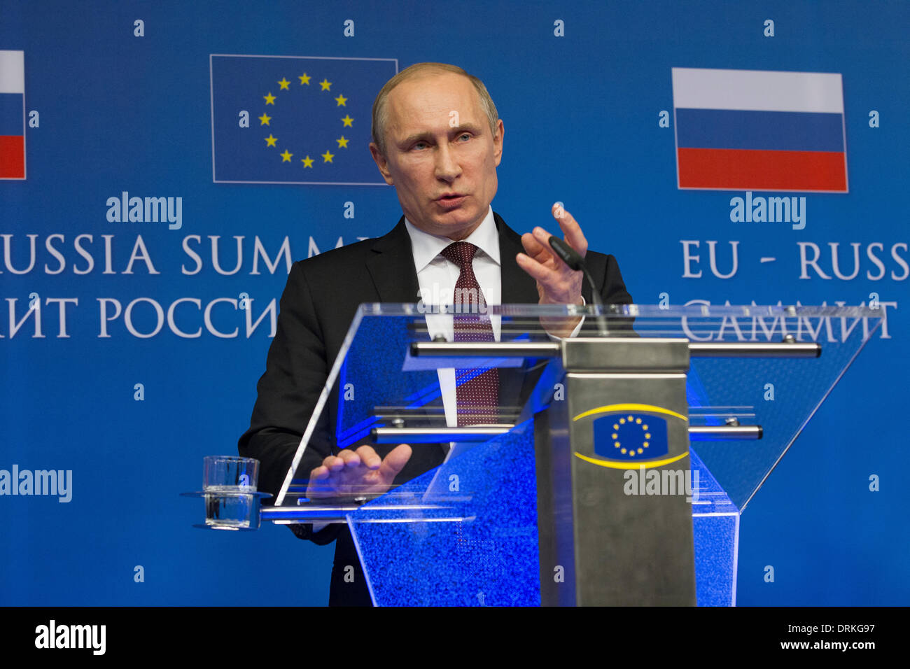 Vladimir Putin Stock Photo