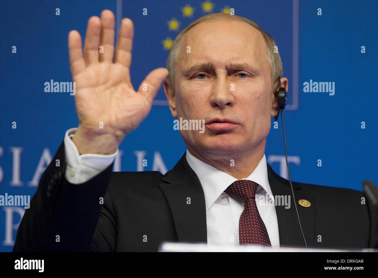 Vladimir Putin - Stock Image