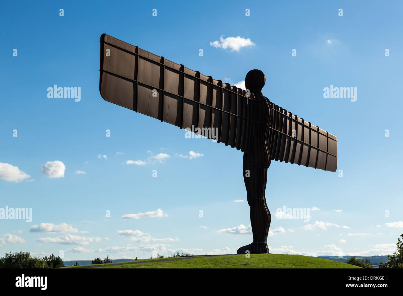 Angel of the North, Gateshead, Tyne and Wear, England - Stock Image