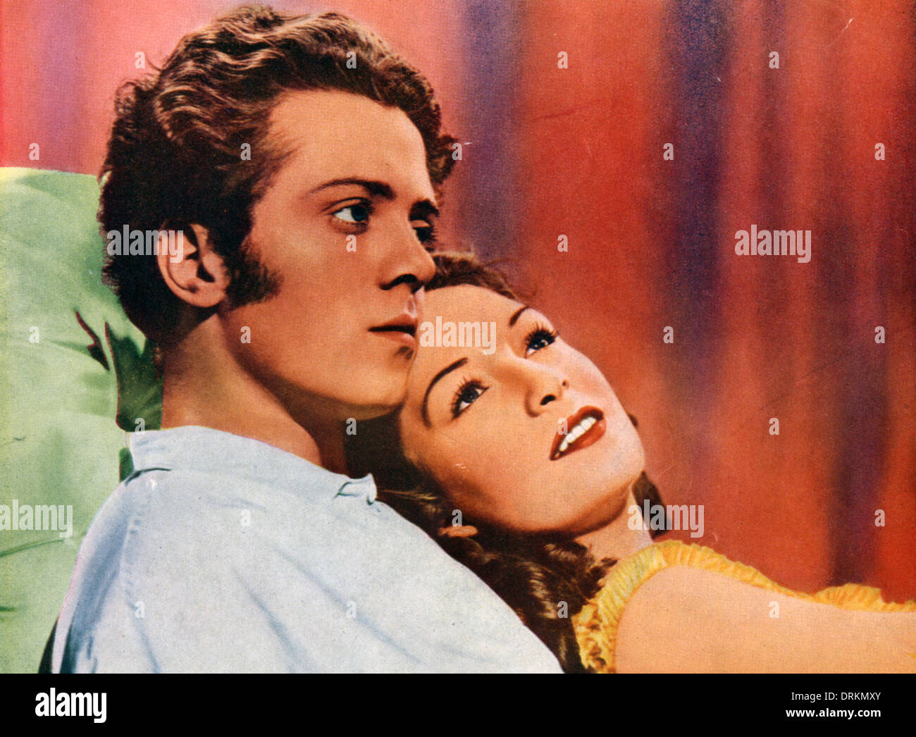 THE SMUGGLERS (aka The Man Within) 1947 PFS film with Richard Attenborough and Jean Kent - Stock Image