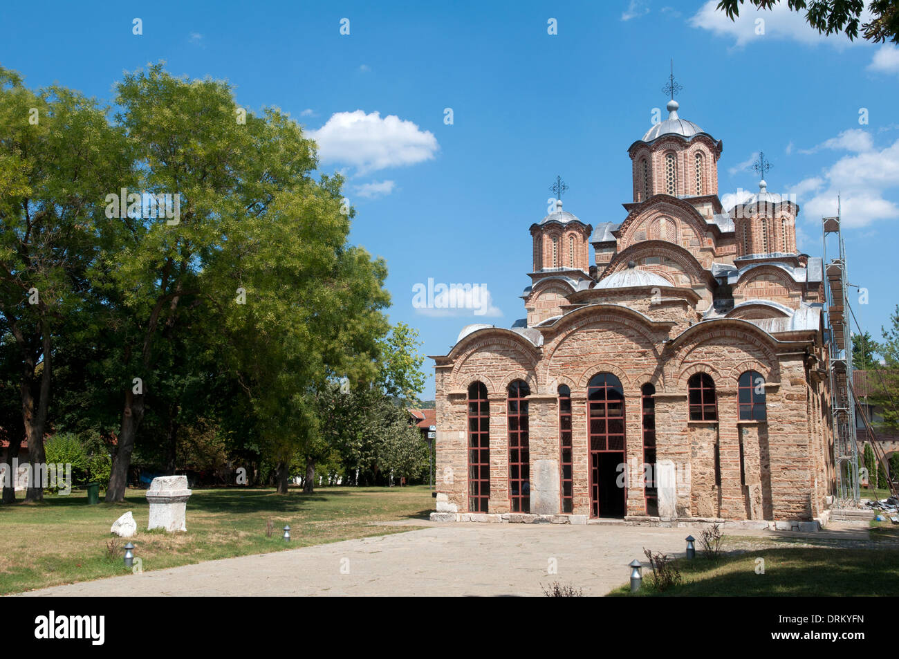 Gračanica monastery, Kosovo Stock Photo