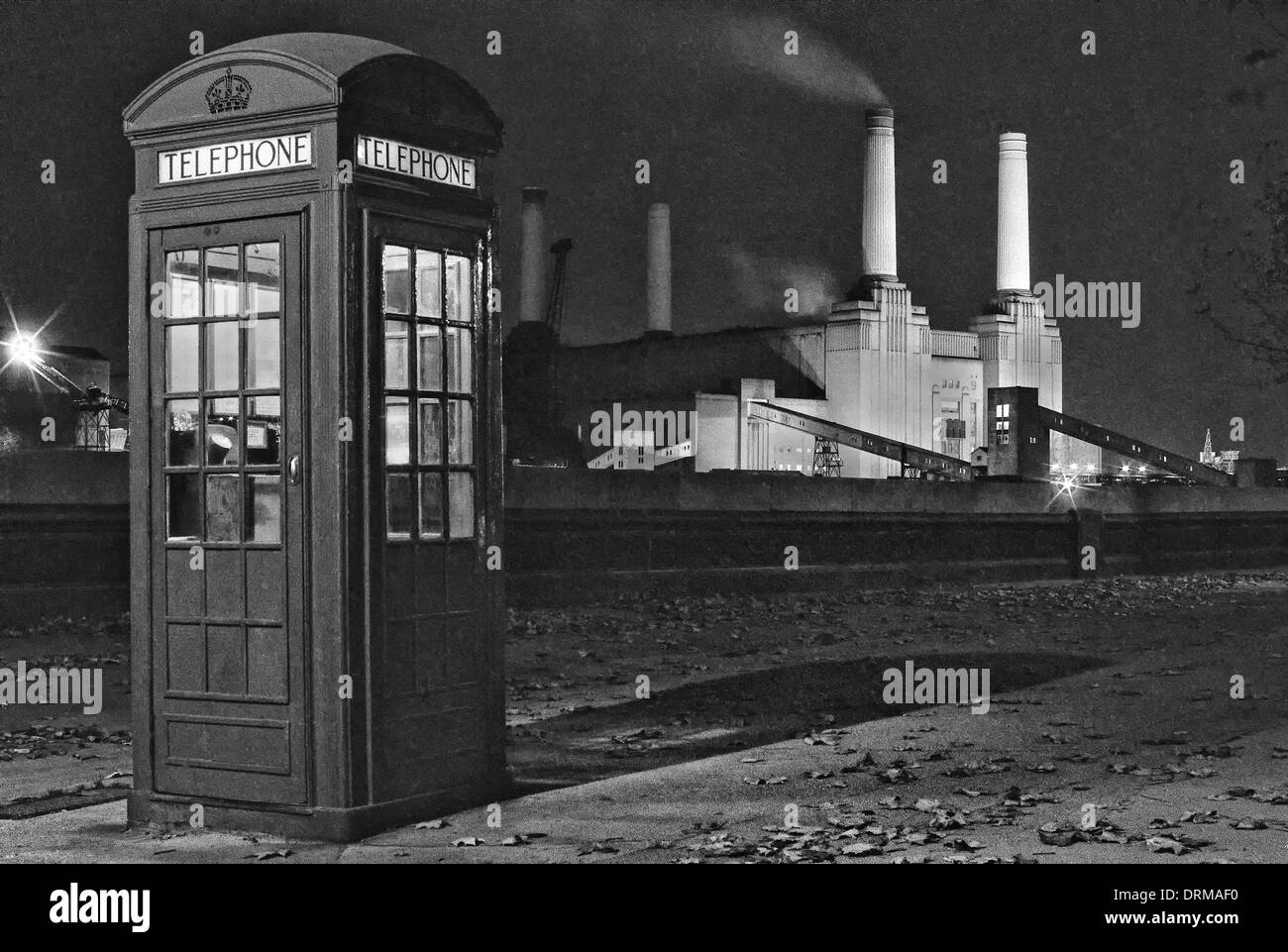 Battersea Power Station, London, England, UK - Stock Image