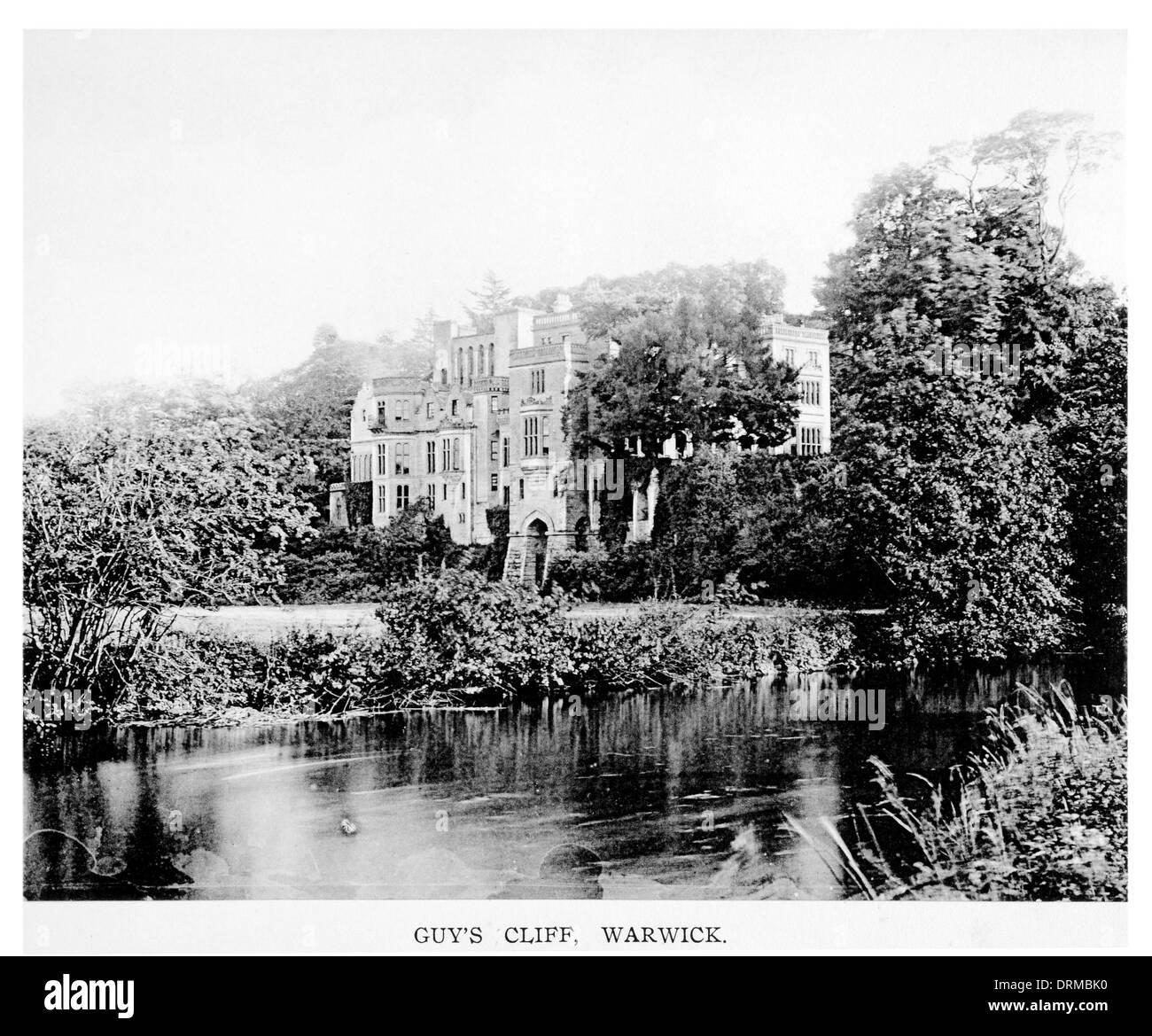 Guy's Cliff, Warwick Warwickshire Photographed Circa 1910 - Stock Image