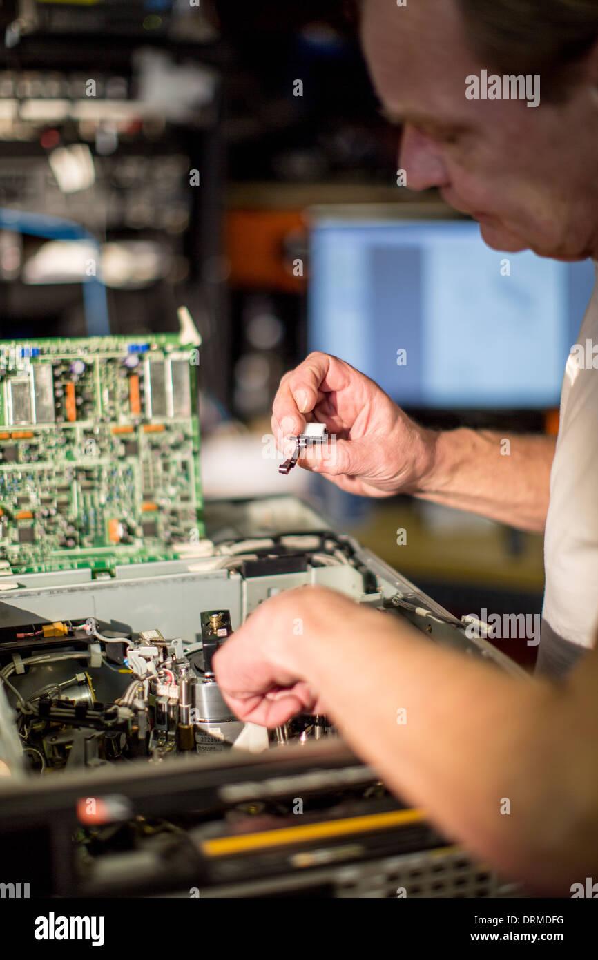 technology engineer work profession work job - Stock Image