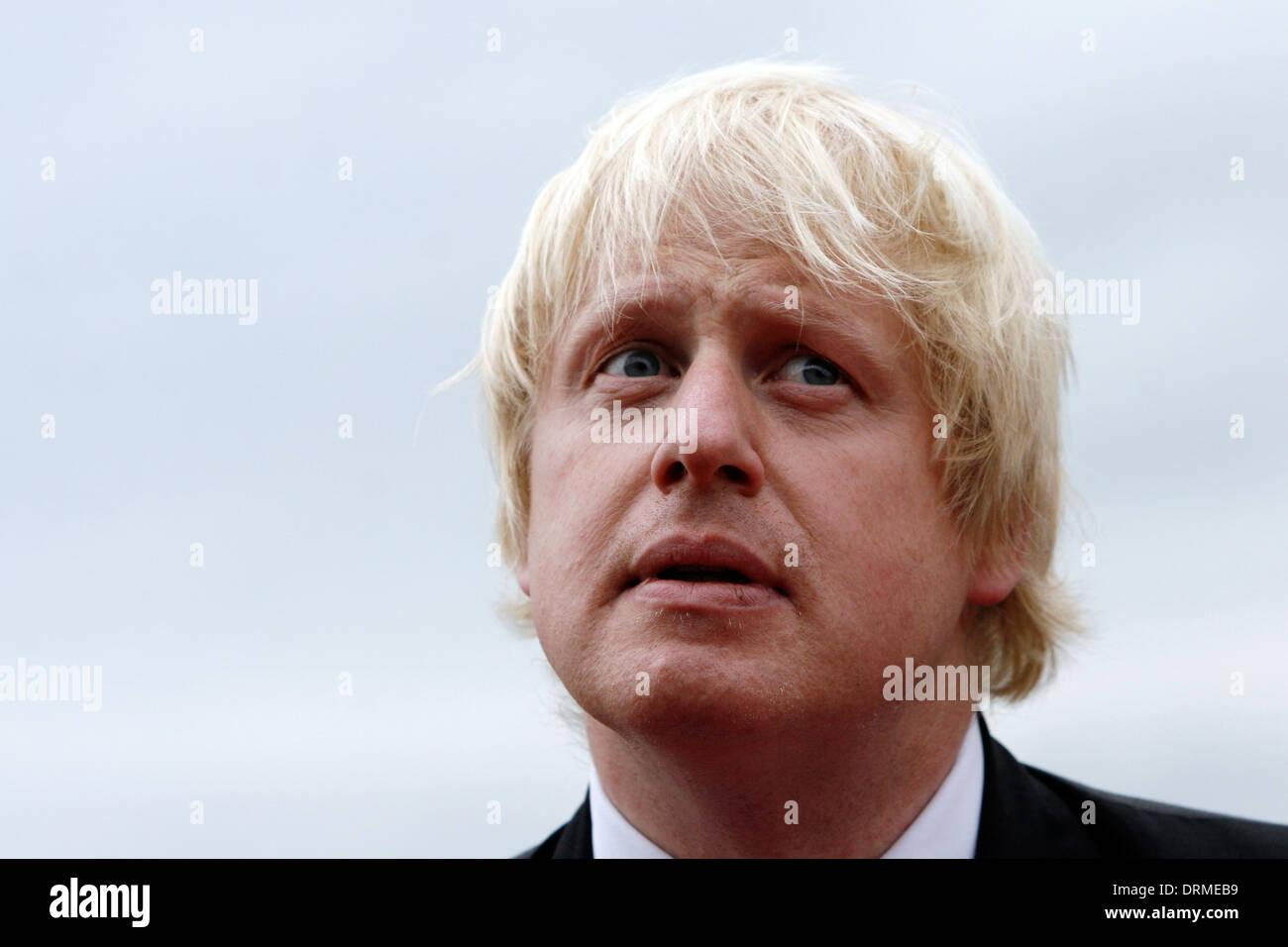 Mayor of London Boris Johnson London - Stock Image
