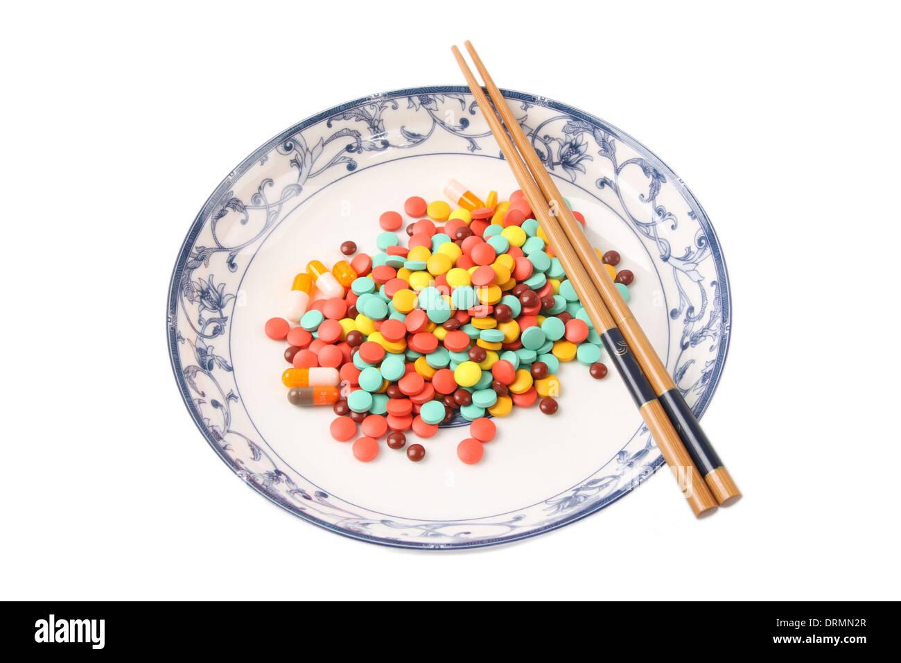 overdose medicine - Stock Image