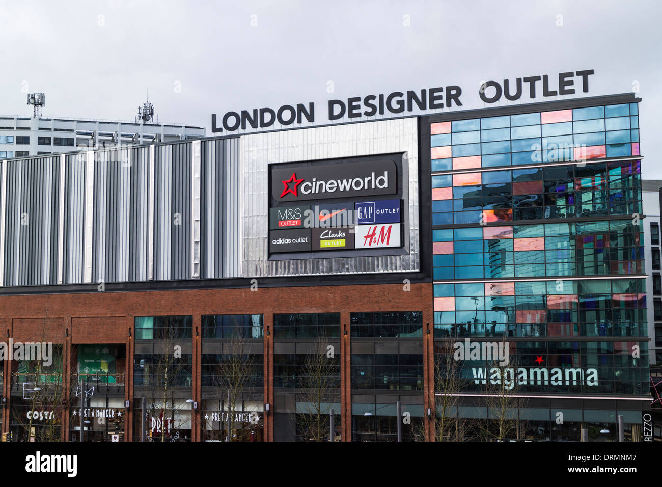 London Designer Outlet - Wembley Park - Stock Image