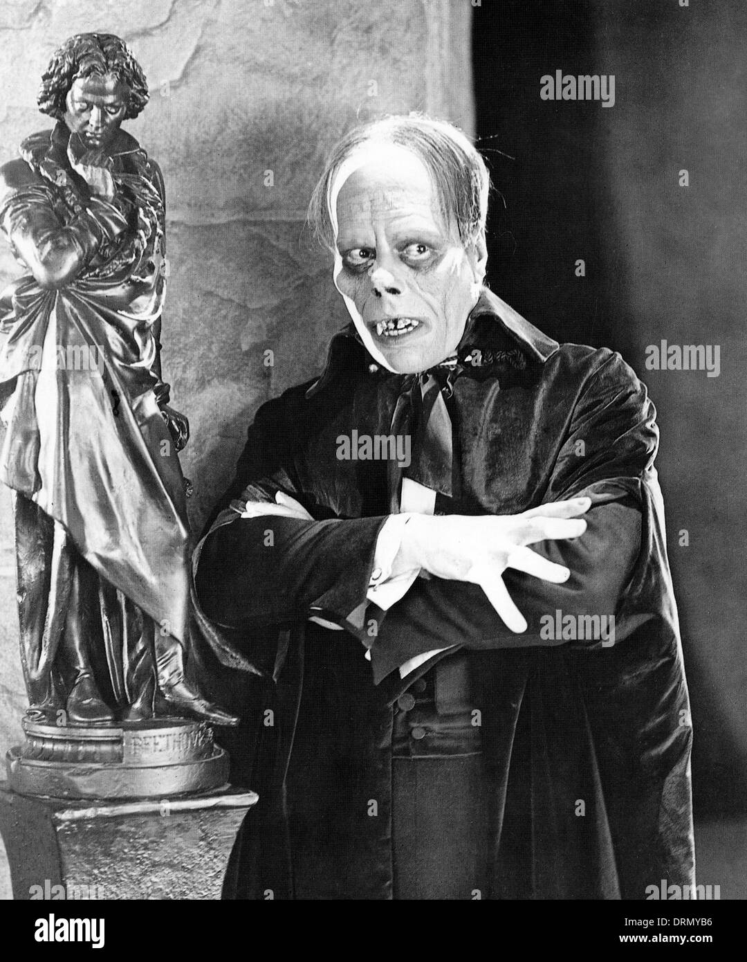 THE PHANTOM OF THE OPERA 1925 Universal Pictures film with Lon Chaney - Stock Image
