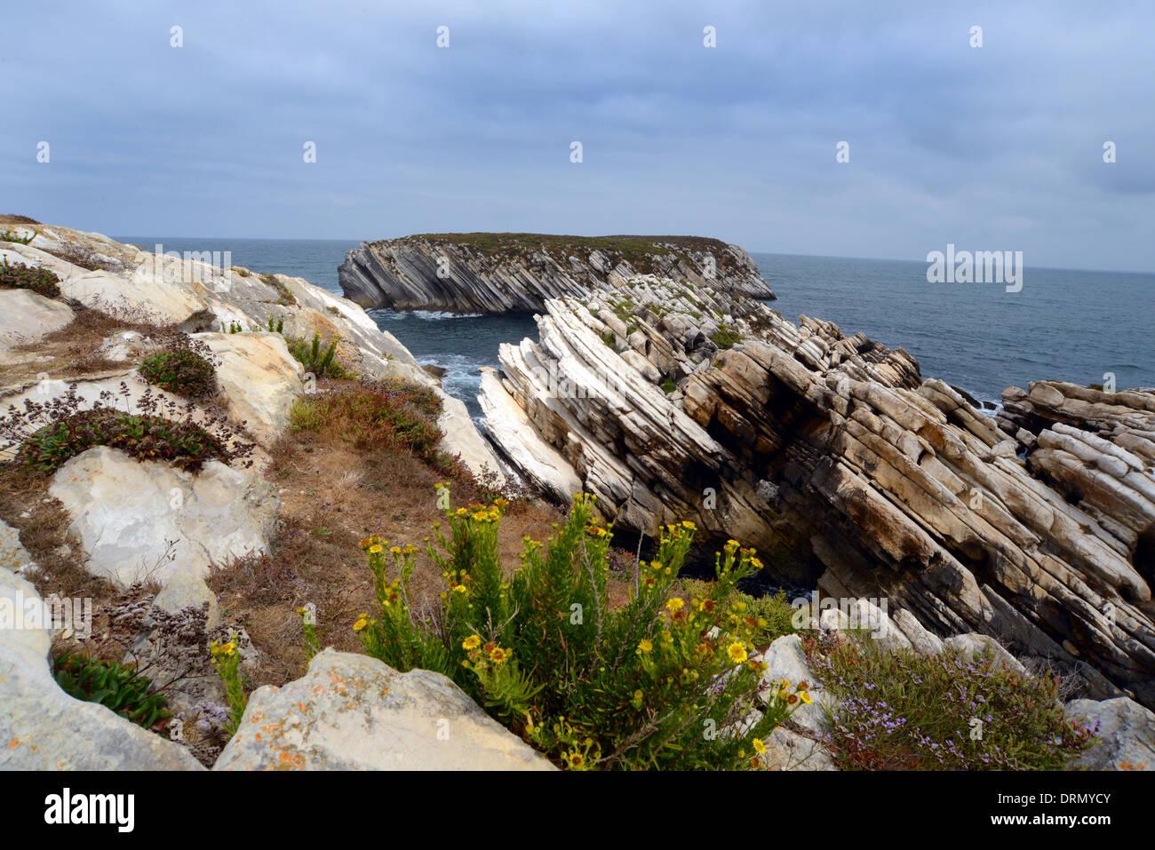 Peniche Peninsular Portugal - Stock Image