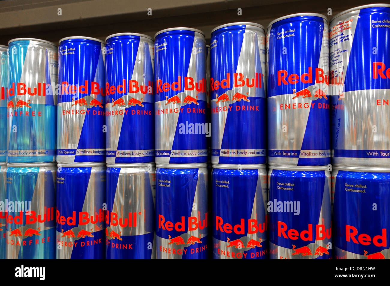 red bull energy drink stock photos red bull energy drink. Black Bedroom Furniture Sets. Home Design Ideas