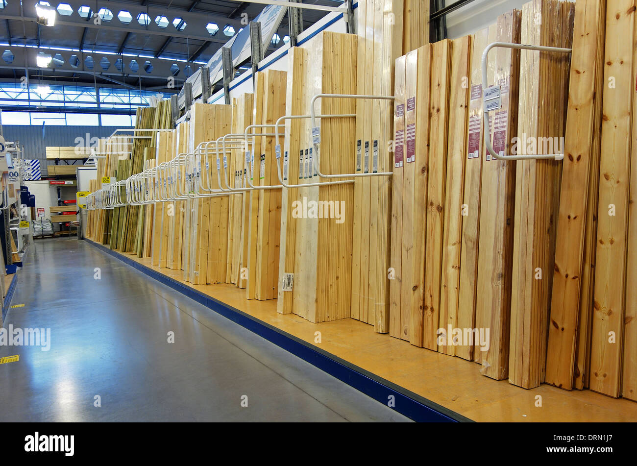 Do it yourself store stock photos do it yourself store stock the timber section in a diy store stock image solutioingenieria Gallery