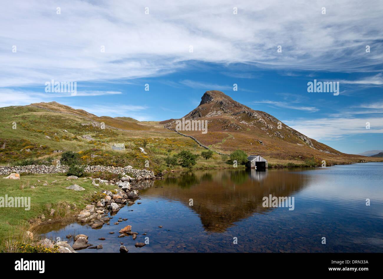 Llnn Cregennan, Snowdonia Stock Photo