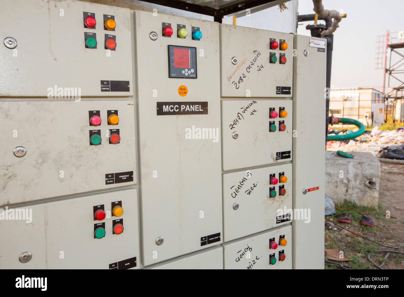 Biogas Plant India Stock Photos & Biogas Plant India Stock