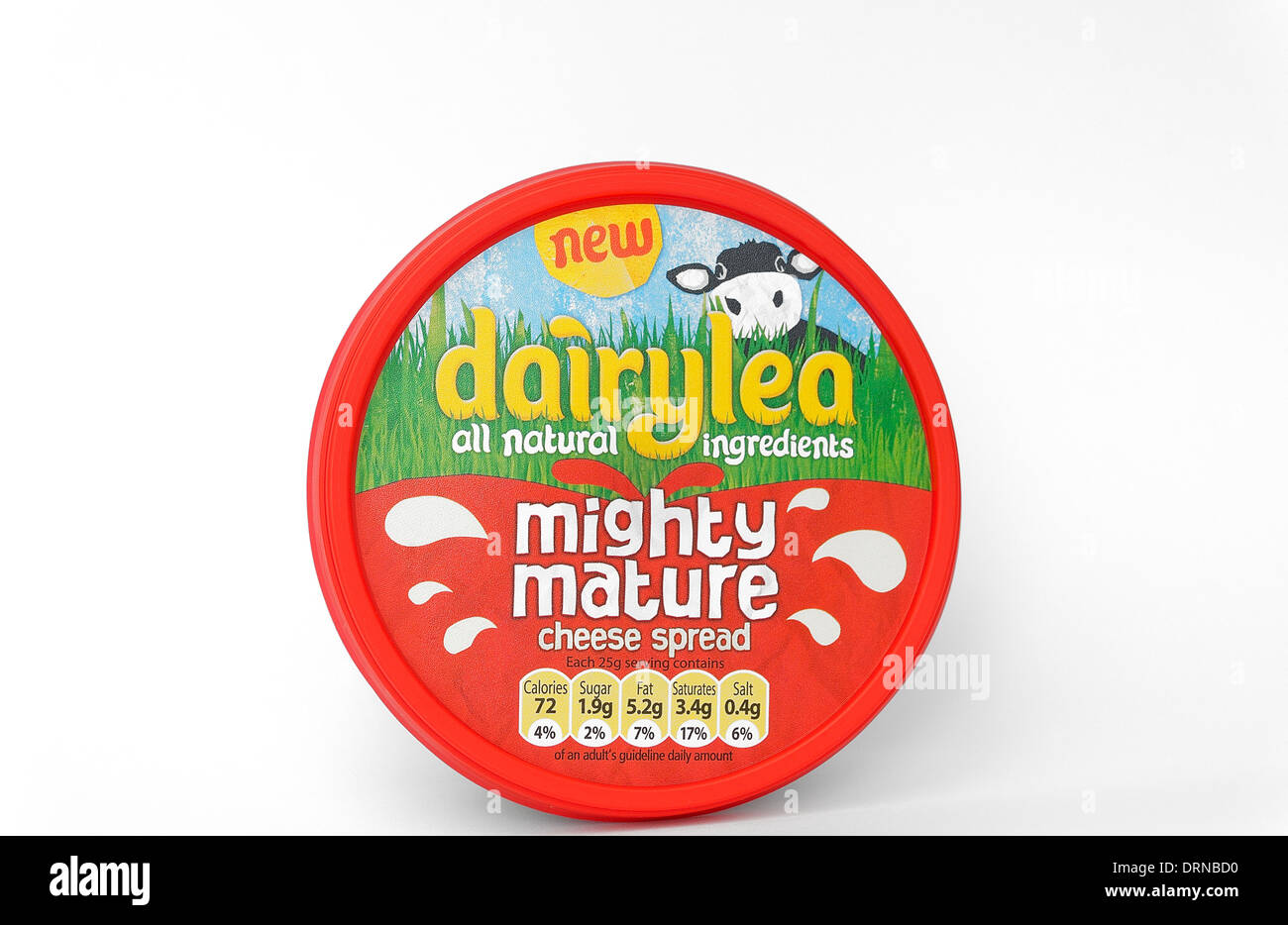 Dairylea mighty mature cheese spread - Stock Image