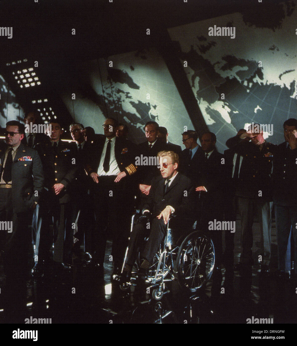 Peter Sellers As Dr Strangelove In Dr Strangelove Or: DR. STRANGELOVE 1964 Columbia Pictures Film With Peter