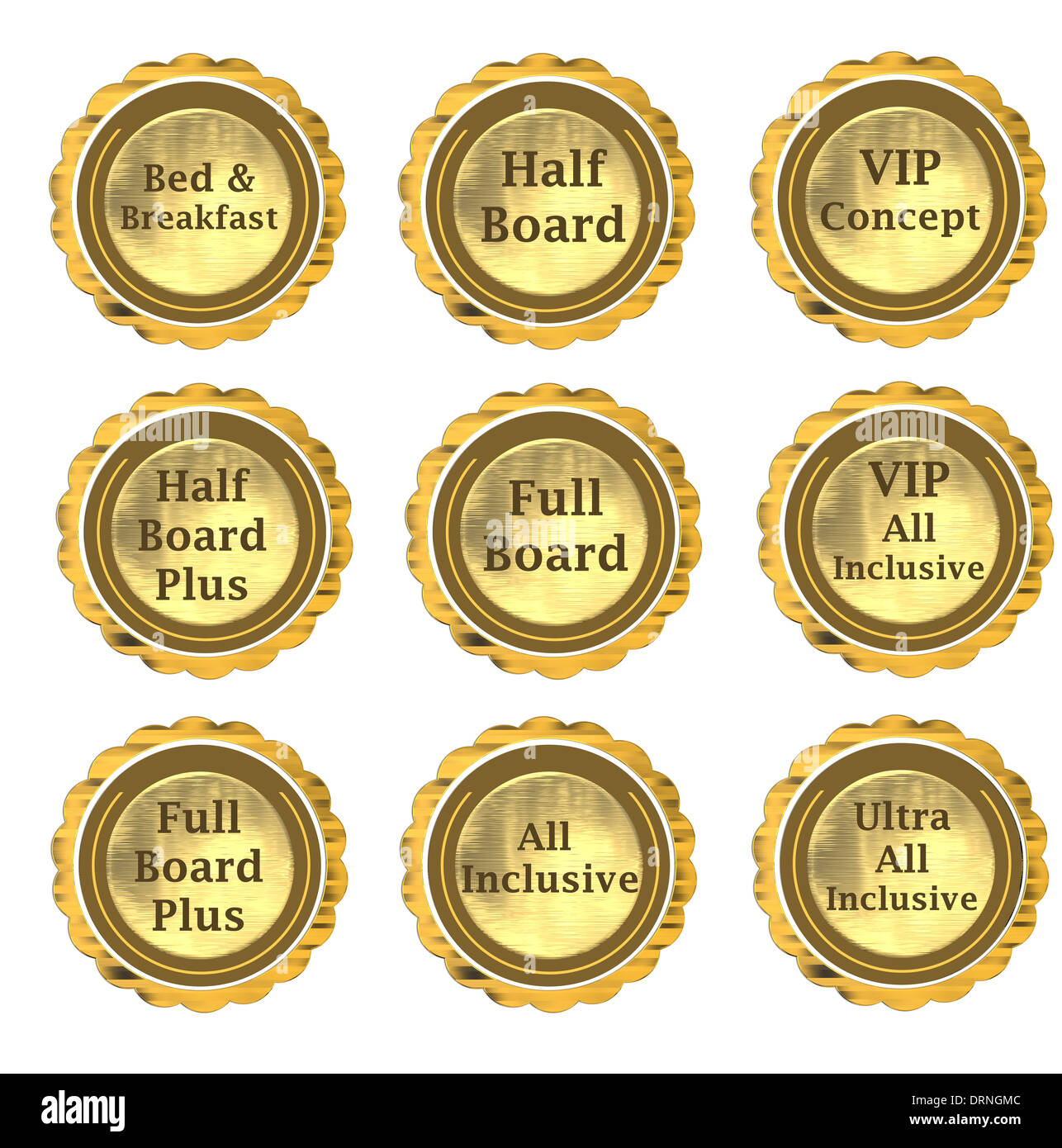 What is half board What is the full board and how does it differ from all-inclusive