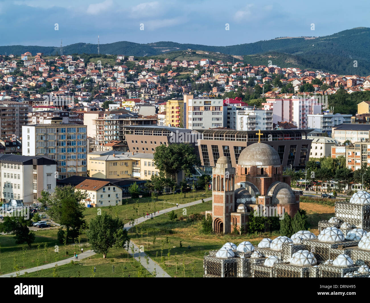 Pristina, Kosovo, Eastern Europe - Stock Image