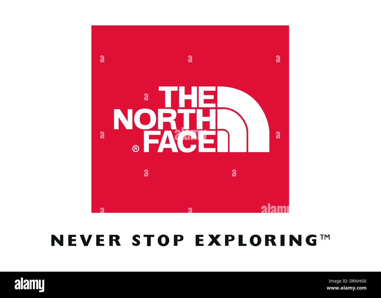 The North Face Logo Symbol Flag Icon Emblem Stock Photo 66242960