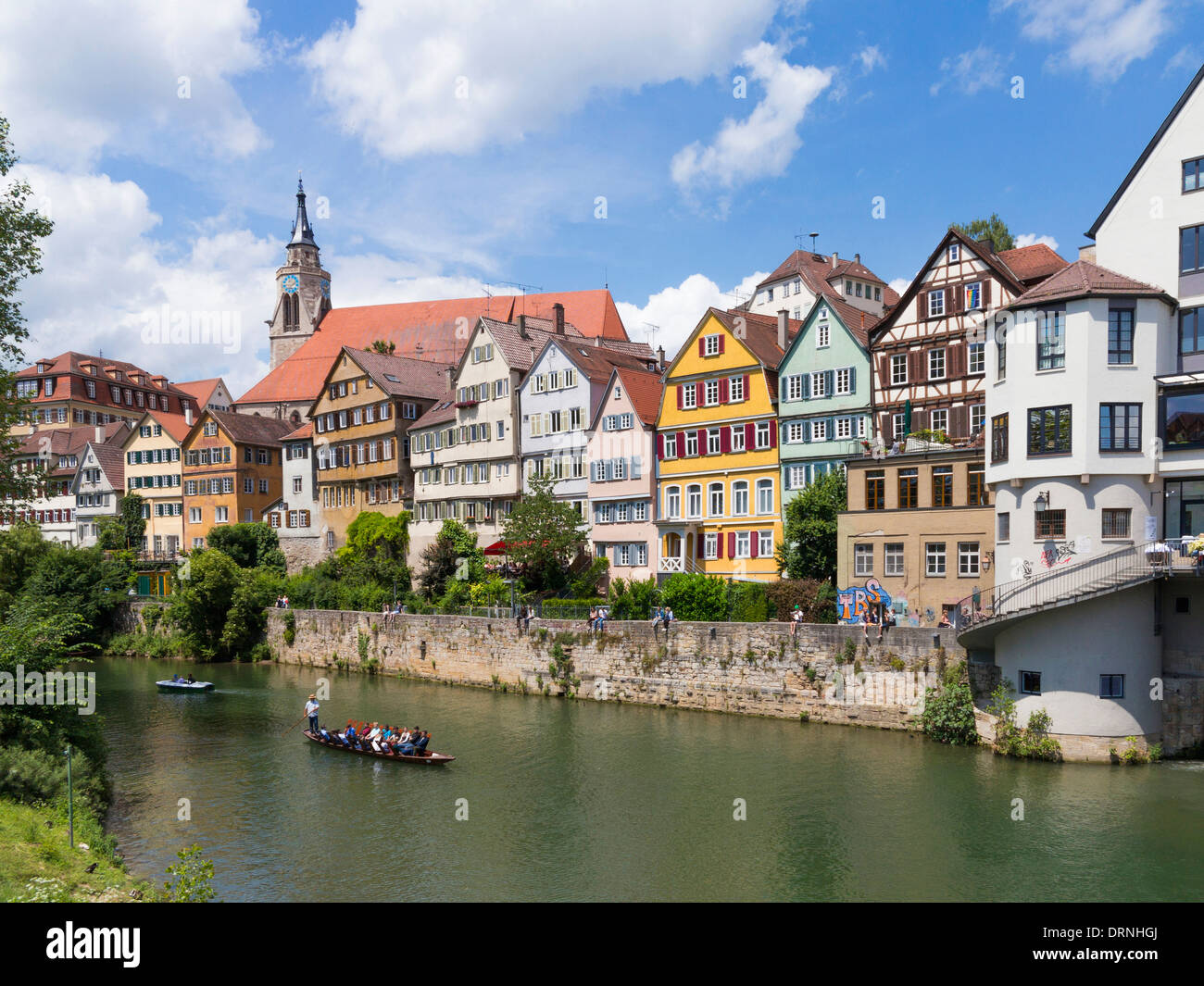 germany tubingen an old town on the river neckar stock photo 66242978 alamy. Black Bedroom Furniture Sets. Home Design Ideas