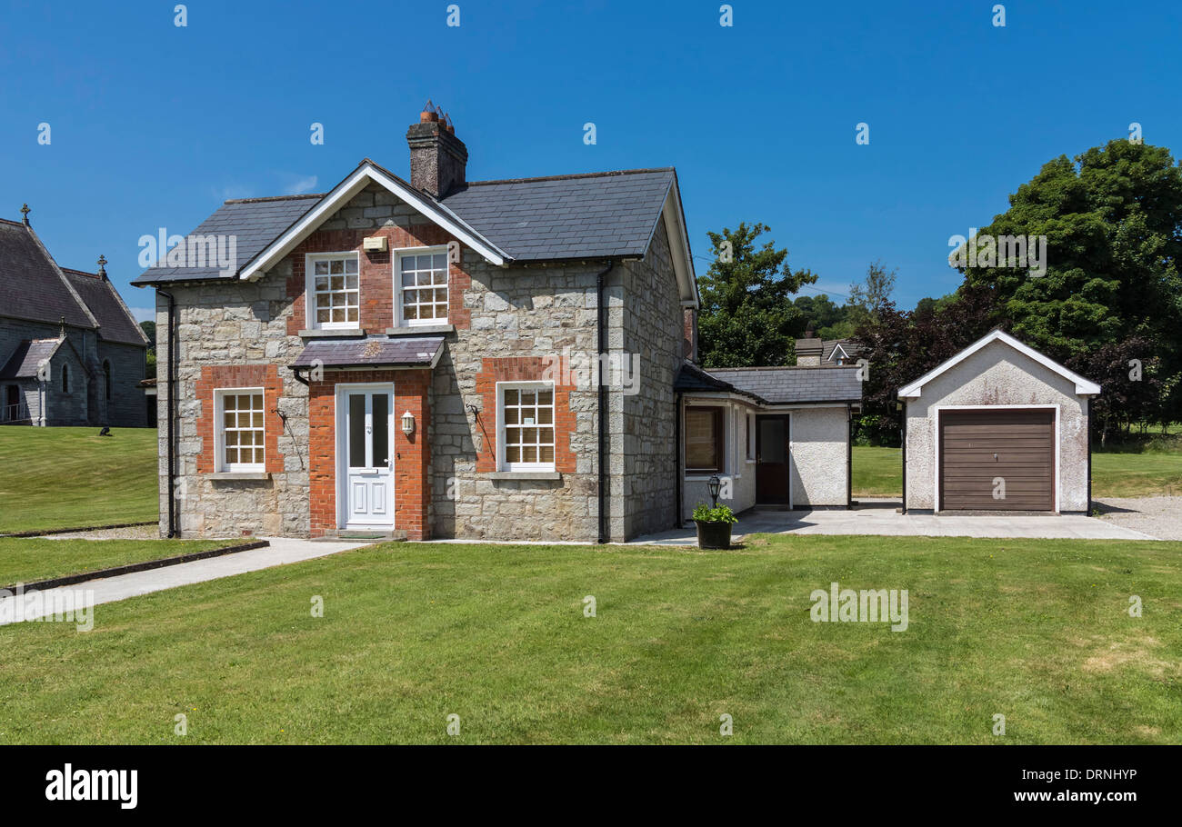 Small Stone House County Wicklow Republic Of Ireland Europe Stock Photo 66243290 Alamy
